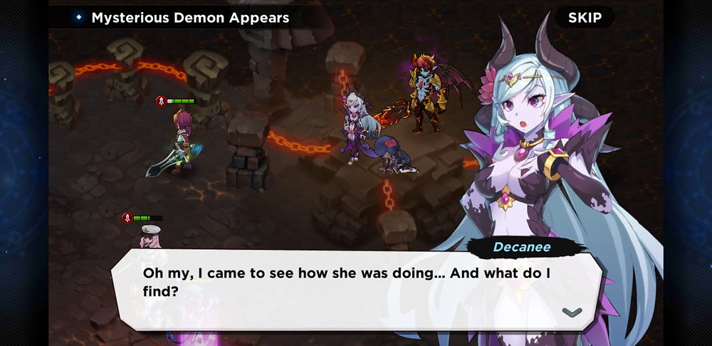 GrandChase Decanee Story Mode Mysterious Demon