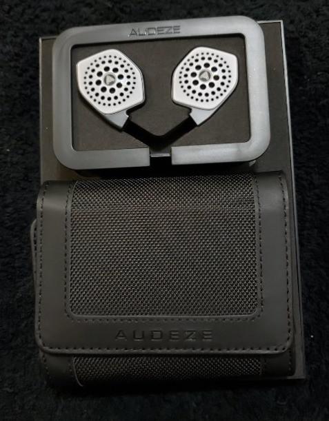 Audeze i-Sine LX earbuds with case