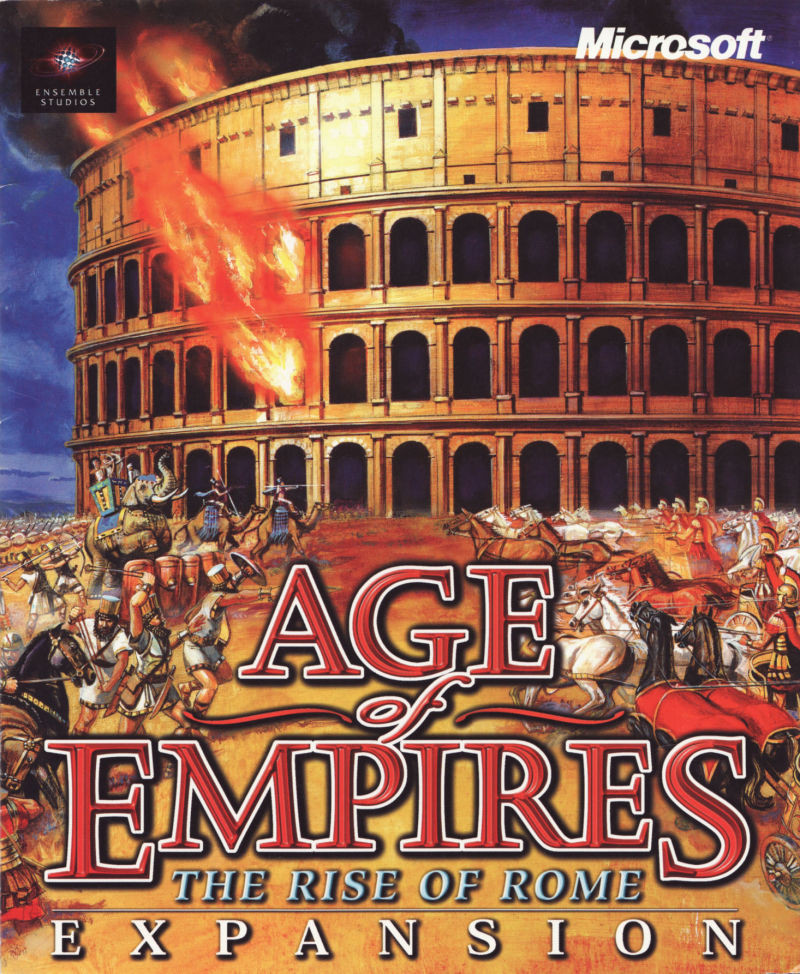 Age of Empires: The Rise of Rome Cover