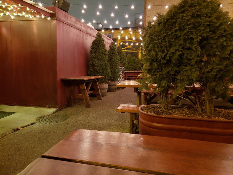 small cheval exterior eating area outside