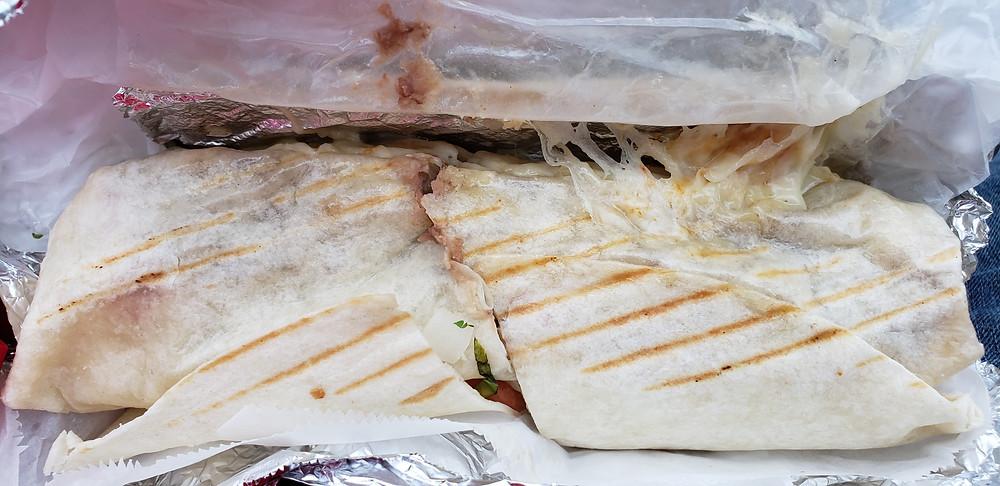 Chikis N' Grill Suizo Steak Burrito