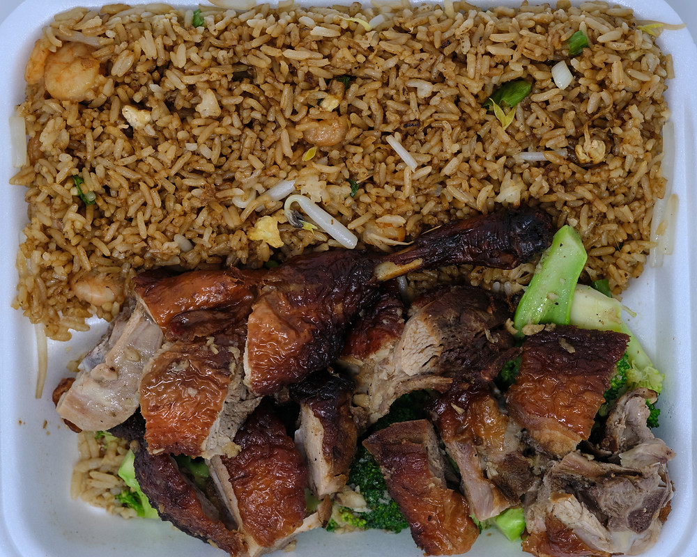 Tasty Chinese Food Duck Lunch Special