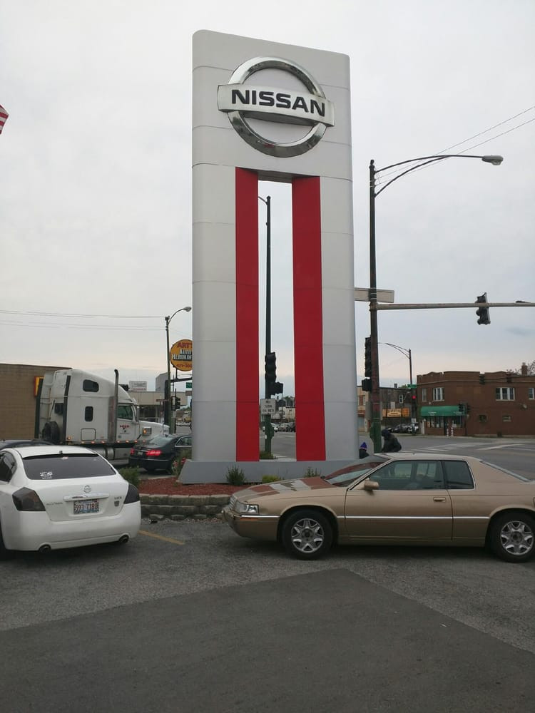 Western Avenue Nissan parking lot
