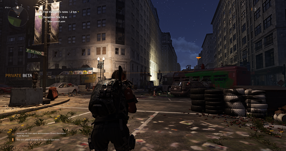 Ubisoft The Division 2 Washington D.C. at night