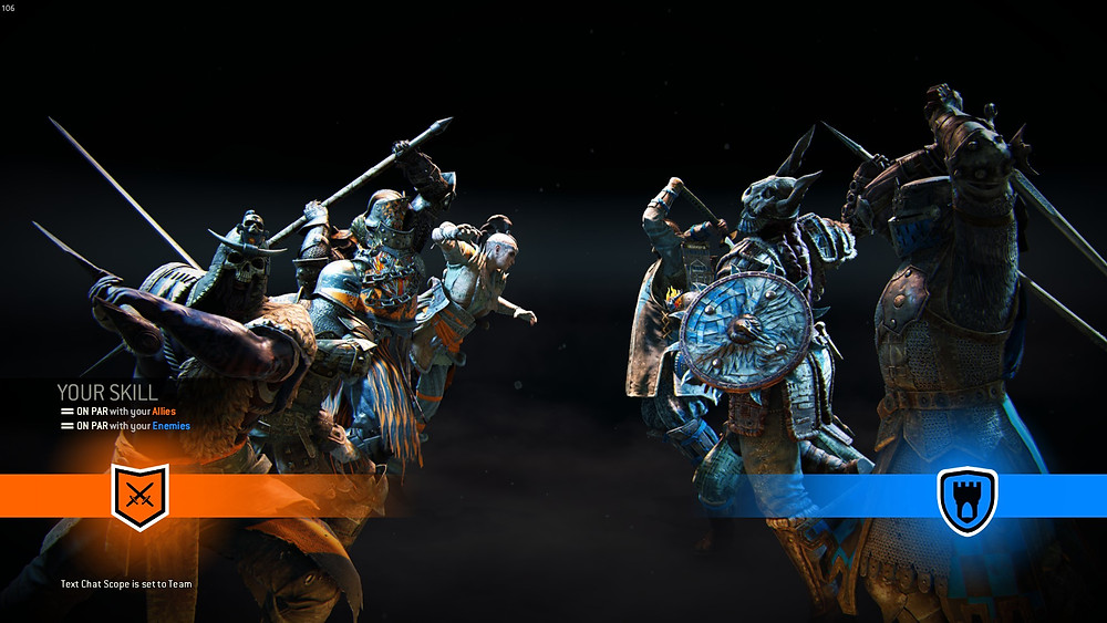 For Honor multiplayer loading screen