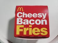 McDonald's Cheesy Bacon Fries Box