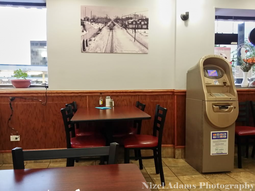Jefferson Park Grill Interior Seating & ATM