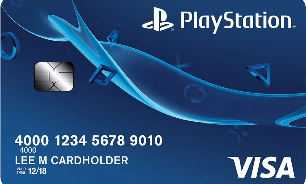 Sony Playstation Card