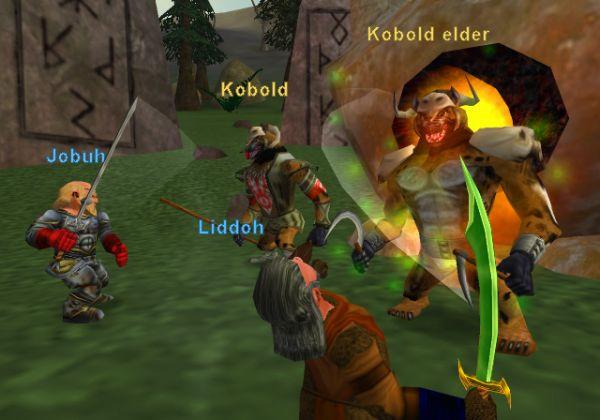 Everquest Online Adventures Battles Kobold
