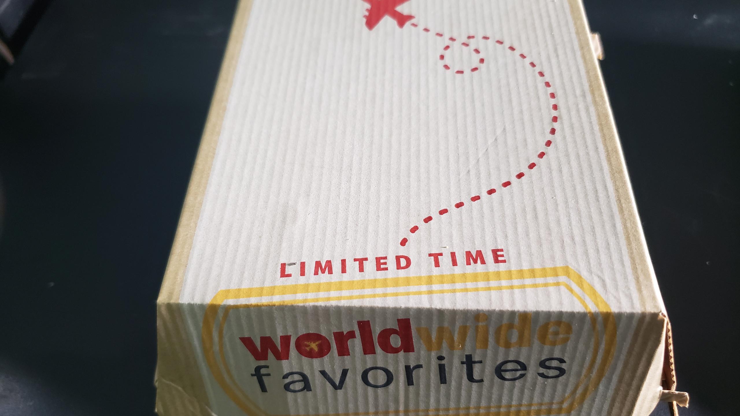 McDonald's Wordwide Favorites Box