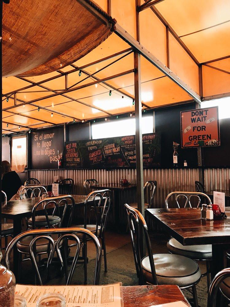 90 Miles Cuban Cafe Interior