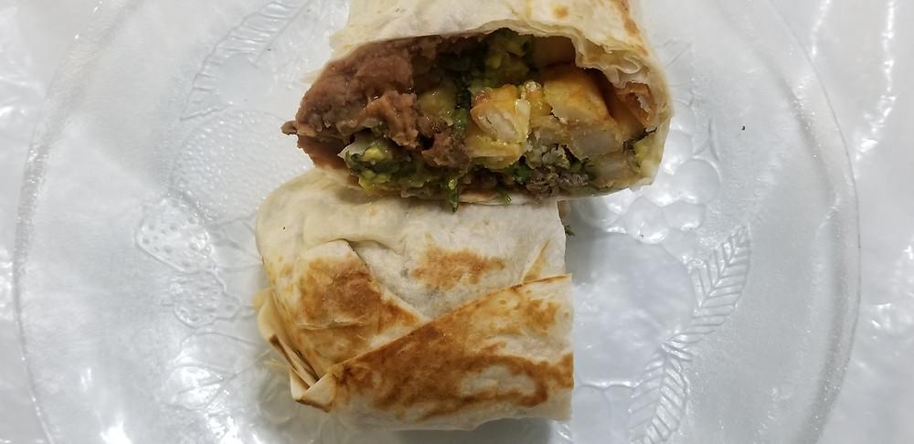 The Fast Burrito California Burrito
