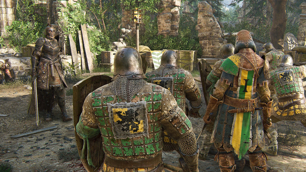 For Honor cutscene Apollion approaching soldiers