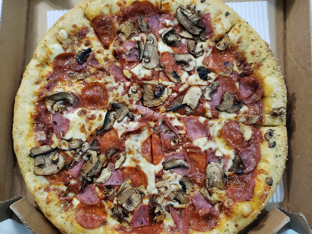 Pizza Hut Large Pizza Hut Favorite Crust