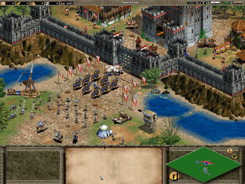 Age of Empires II battle