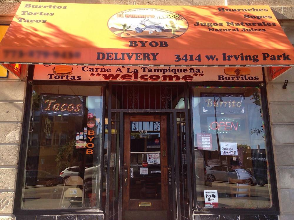 The Fast Burrito Entrance