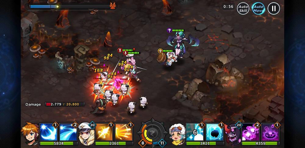 GrandChase Combat story mode