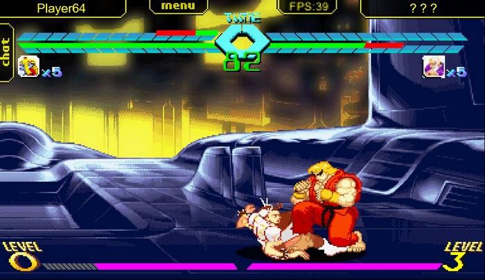 Street Fighter online combat chun-li ken