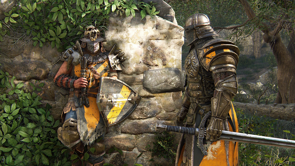 For Honor cutscene heroes talking
