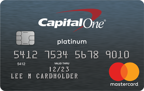 Capital One Mastercard Platinum Credit Card