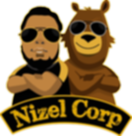 Nizel Co Logo Yellow Outline Transparent Png