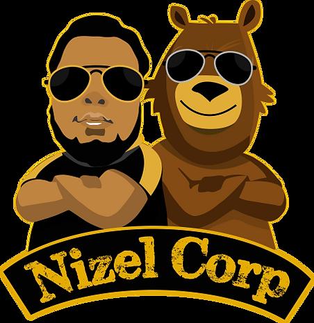 Nizel Co Logo Yellow Outline Transparent Png
