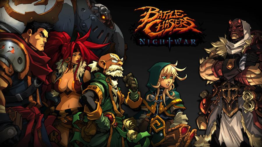 Battle Chasers: Nightwar main characters
