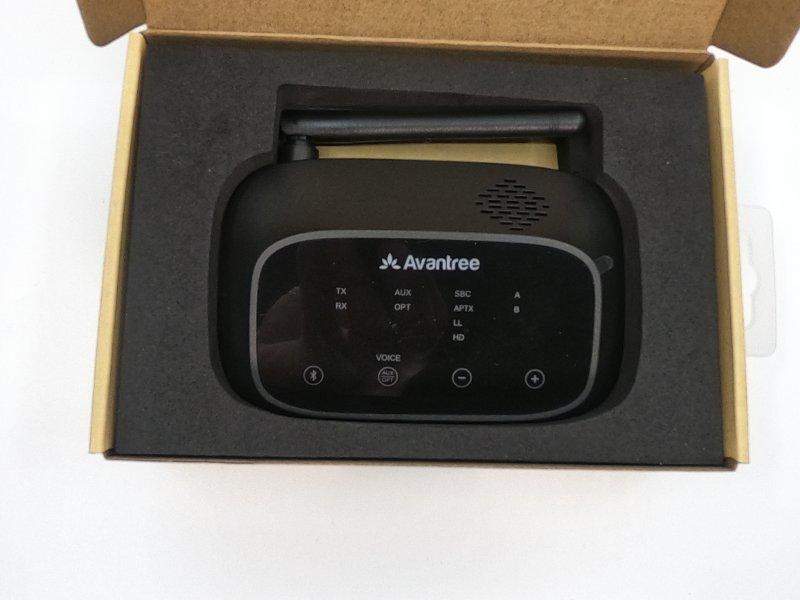 Avantree Oasis Plus in packaging