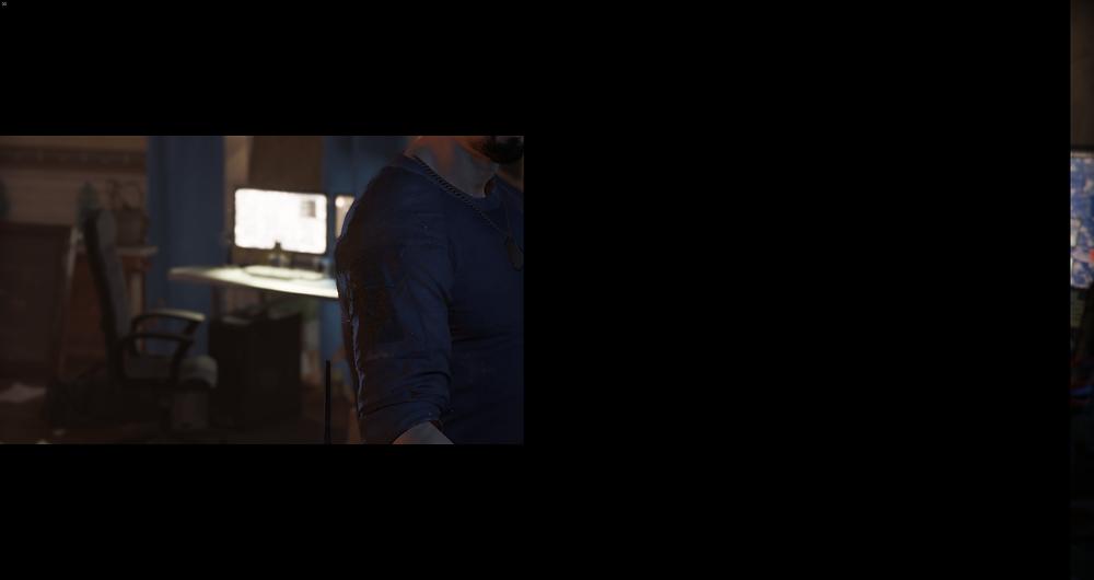 The Division 2 Beta Cutscene Bug 4K Resolution