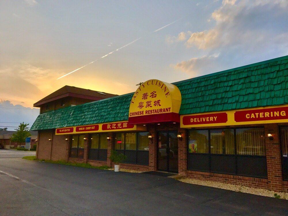 Tasty Cuisine Chinese Restaurant Entrance
