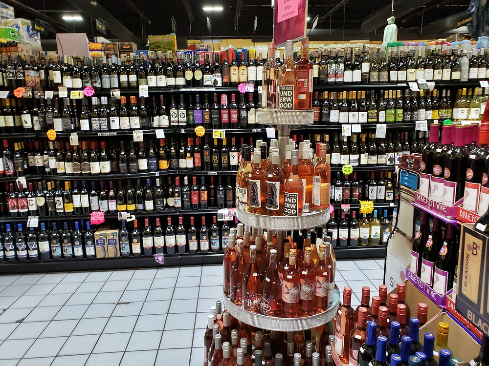 FoodSmart Alcohol Liquor Aisle