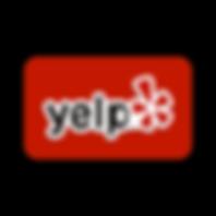 Yelp Logo Red Background