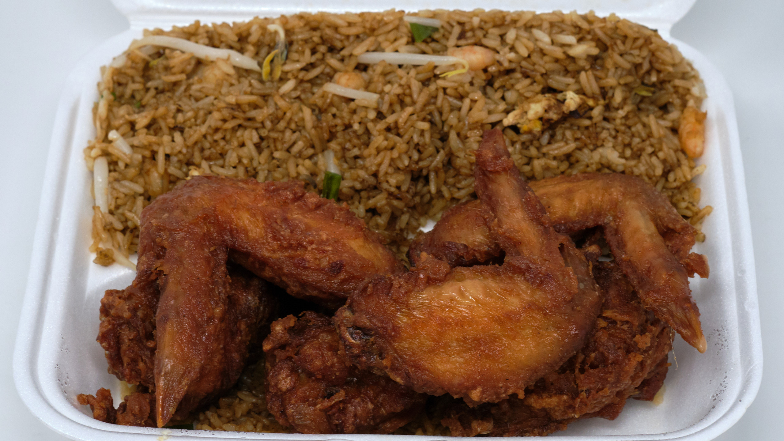 Tasty Chinese Food Fried Chicken Lunch Special
