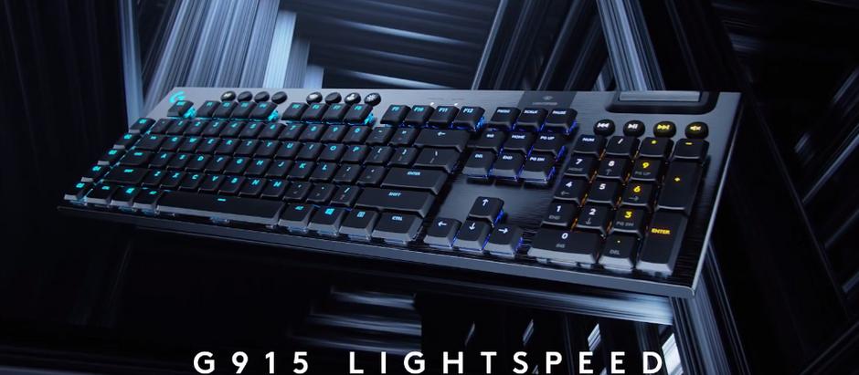 Logitech debuts G915 & G913 keyboards