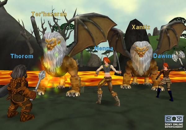 Everquest Online Adventures Battle