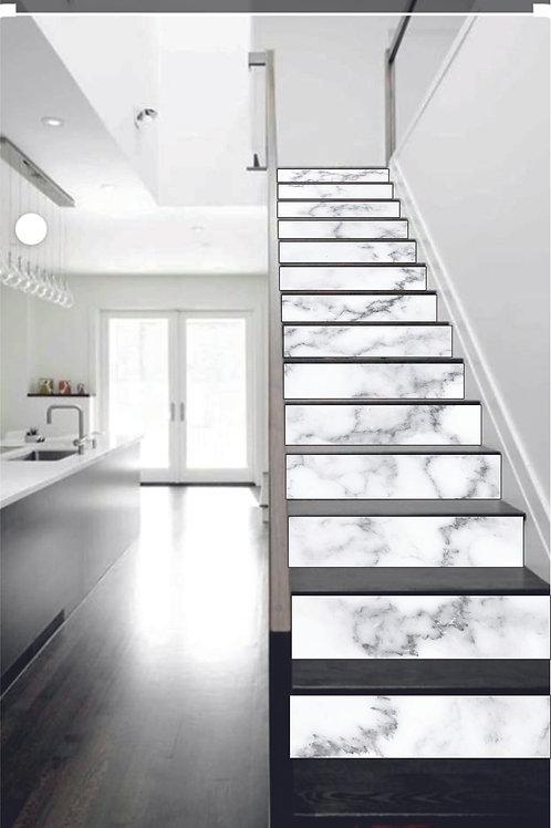Trapsticker White Marble