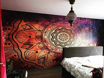 wallprint mandala schagen