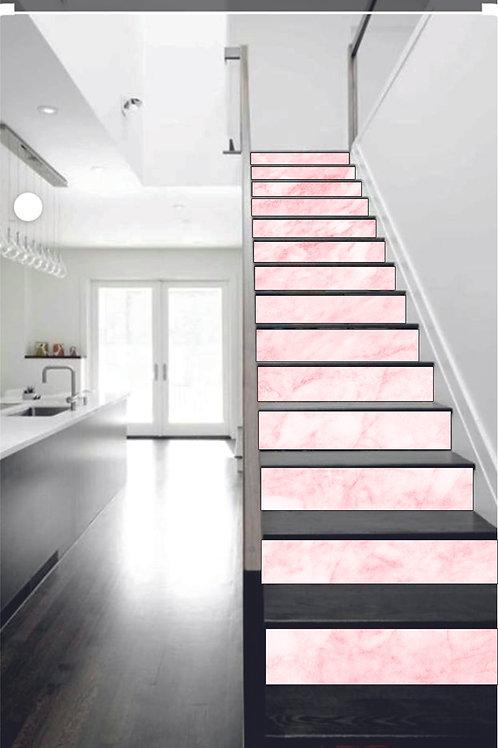 Trapsticker Pink Marble