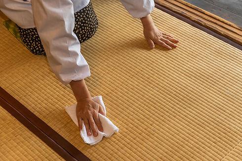 畳の手入れ