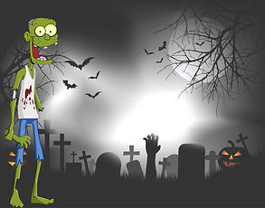 spooky-graveyard-with-zombie-hand-coming