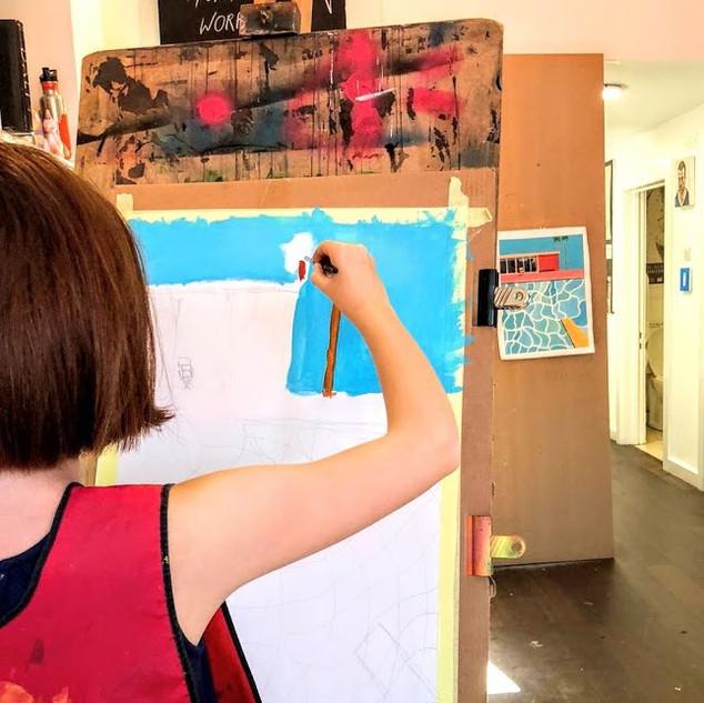 David Hockney Workshop