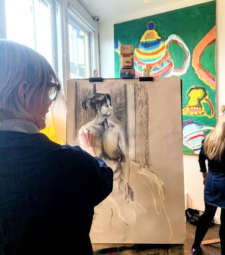 Life Drawing classes London, Kensal Rise, NW10