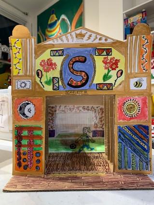 8-11yrs Classes create Elegant Victorian Theatres