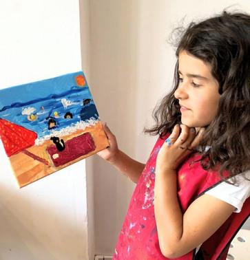 Summer Workshops - Week 4 Water study and the Seaside