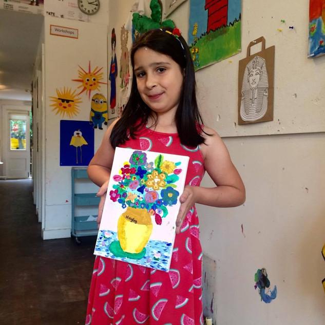 Vincent Van Gogh Workshop