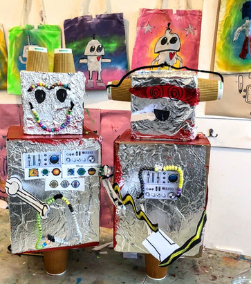 AI ROBOT UPCYCLING WORKSHOPS