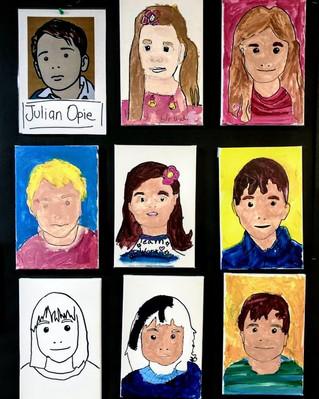 Julian Opie - 5 - 8yrs Classes