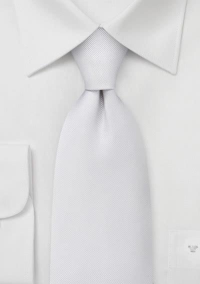 Corbata blanca niño - 20003