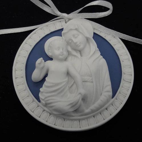 Medallon Virgen y Niño -65499