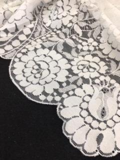 Mantilla blanca 10571